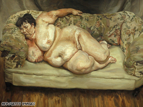 Sue Tilley by Lucian Freud