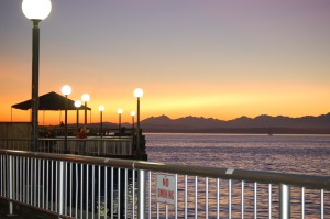Sunset from Waterfront Park